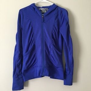 Athleta zip up hoodie jacket size small
